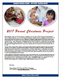 parent cristmas project2017
