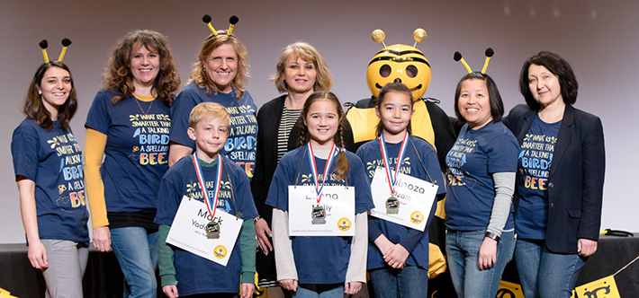 Community Outreach Academy  - Congratulations to 2019 Spelling Bee Winners!