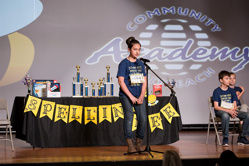 COA Spelling Bee 5th-6th grade - March 22, 2018