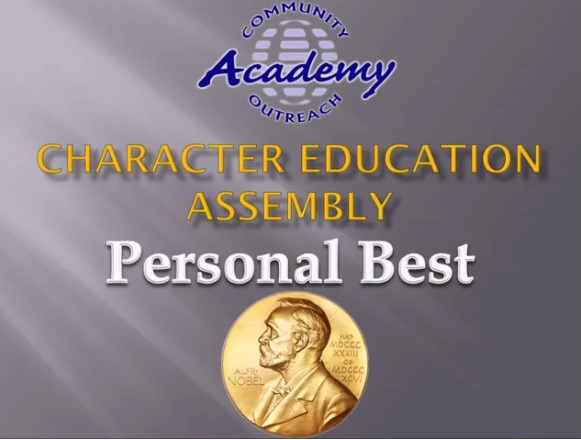 COA's Character Education - Personal Best - April 2020