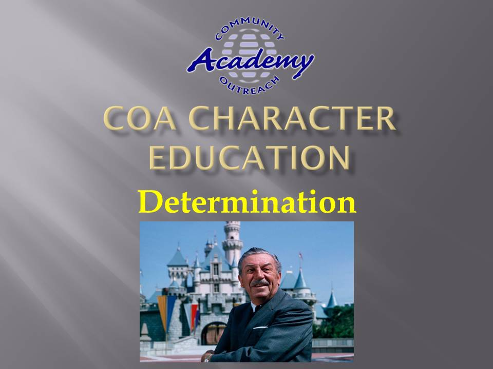 Character Education Assembly - Apr 2021 - Determination