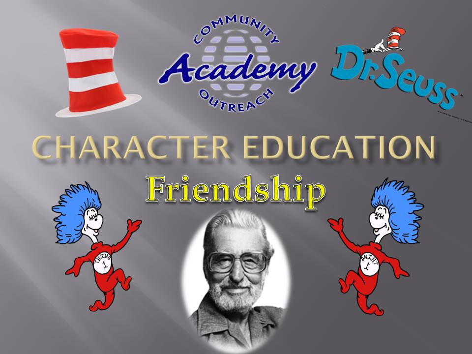 Character Education Assembly - Mar 2021 - Friendship
